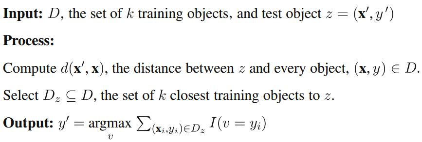 k-Nearest Neighbors (kNN) algorithm – Machine Learning